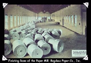 Finishing Room of the Paper Mill, Bogalusa Paper Co., Inc.