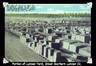 Portion of Lumber Yard, Great Southern Lumber Co.