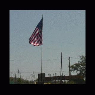 US Flag Pole in Bogalusa